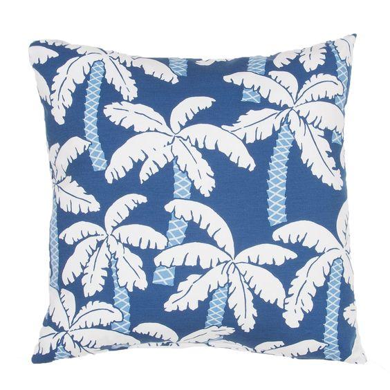 Veranda Coastal Indoor/Outdoor Throw Pillow