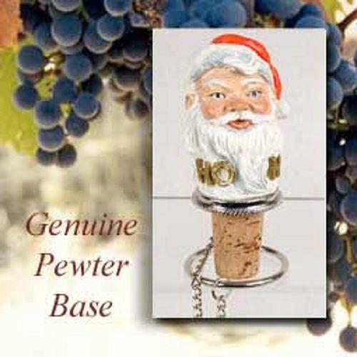 Santa Claus Themed Bottle Stopper