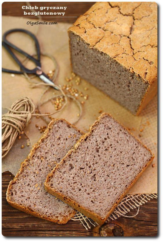 Chleb gryczany bezglutenowy: