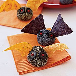 """""""Batty Cheeseballs""""- cheeseballs have become a new obessions. I love these single servings portions."""