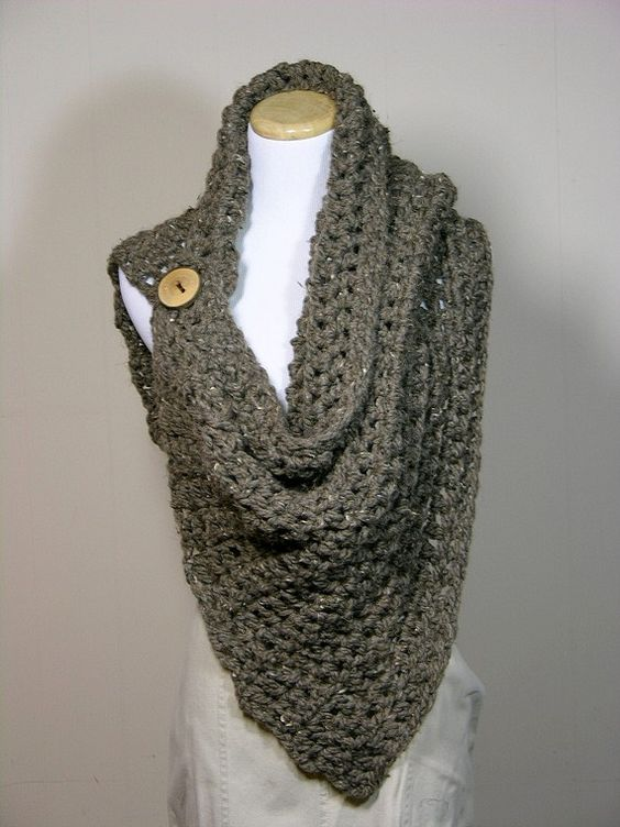 Free Crochet Pattern For Dallas Dream Scarf : Cuello botado varios Pinterest Bufandas de ganchillo ...