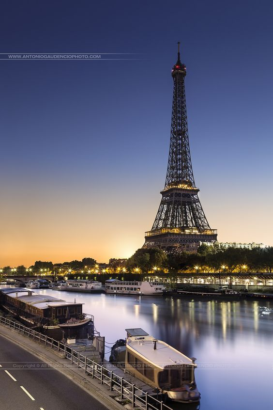 The Eiffel Tower - Paris - France: