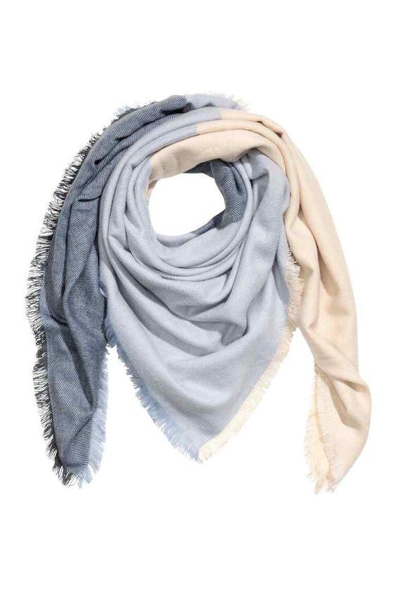 foulard color block hm - Foulard Color