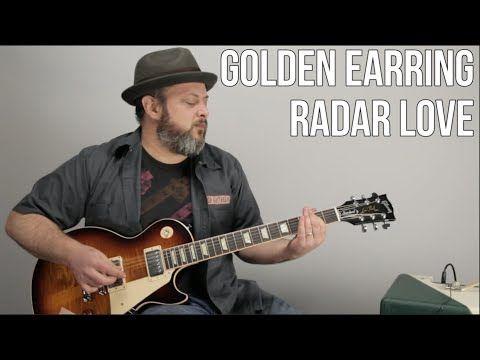 How To Play Radar Love On Guitar Golden Earring Guitar
