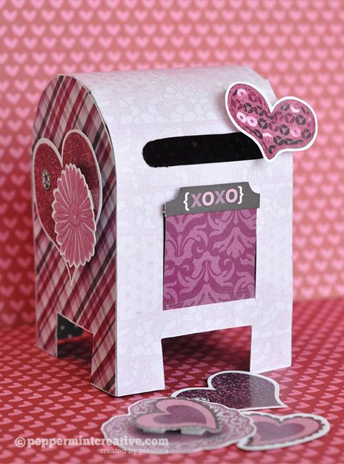 valentine day mailbox diy
