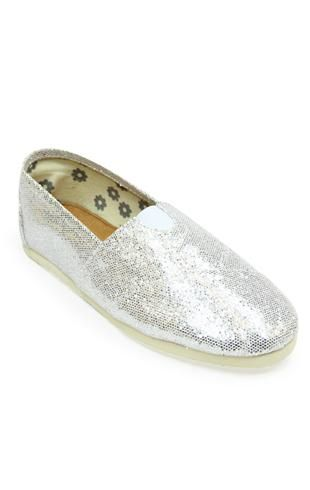 """glitter slip on """"Toms"""" look-a-likes, love these and would so rather pay $20 for them"""
