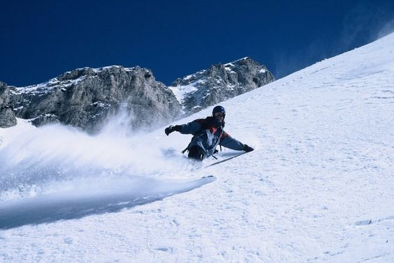 Learn how to snowboard.