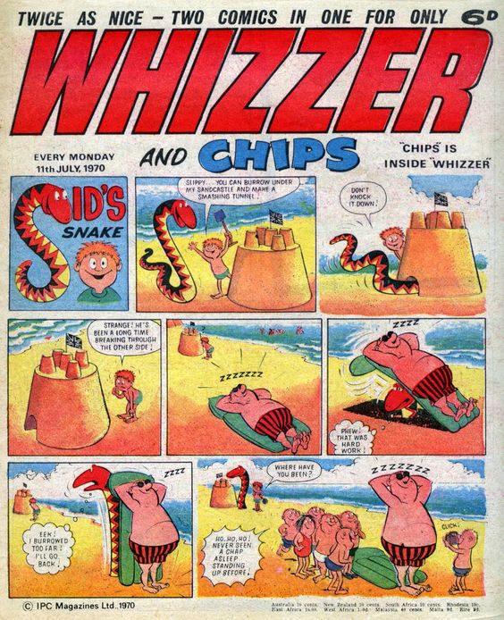Whizzer & Chips - My favourite comic