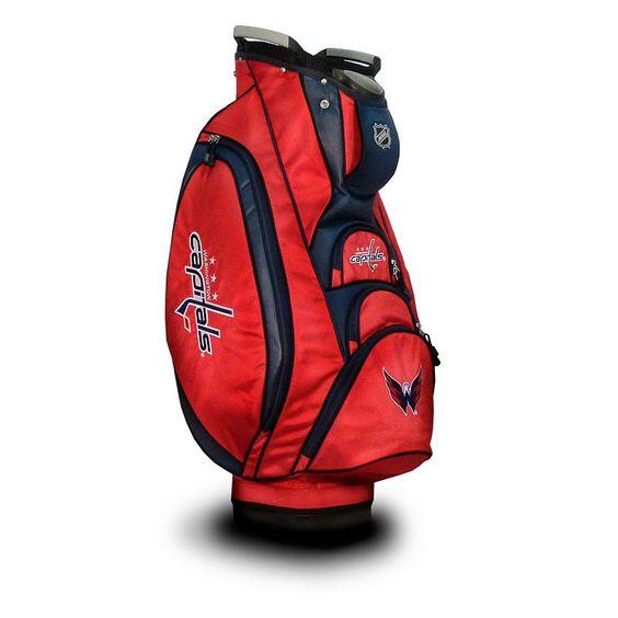 Team Golf Washington Capitals Victory Cart Bag, Multicolor