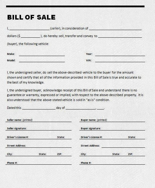 Bill Of Sale Leaf Bookmark How To Make Helpful Hints
