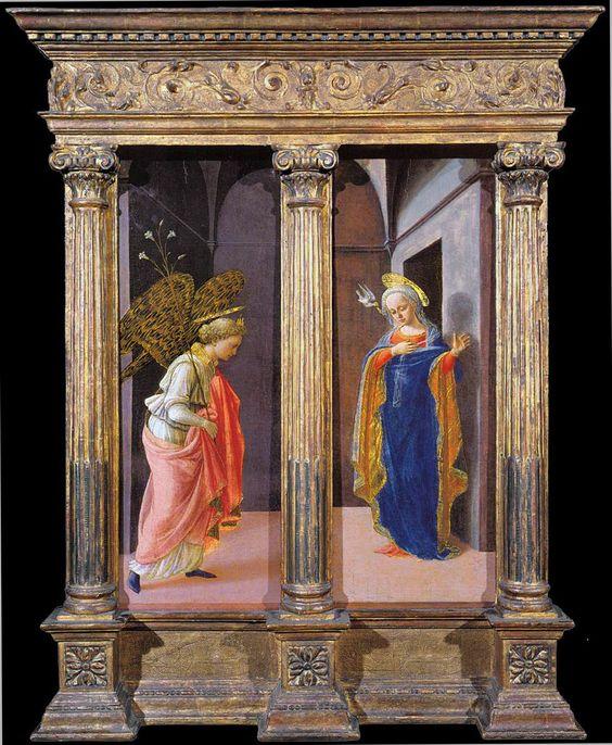 "Alain de Botton's Healing Arts  ""Annunciation"" (1437-1439), by Fra Filippo Lippi"