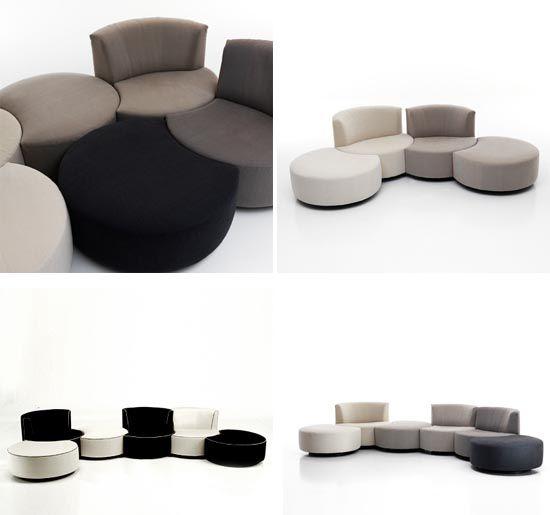 Modular sofa, Sofa design and Sofas on Pinterest