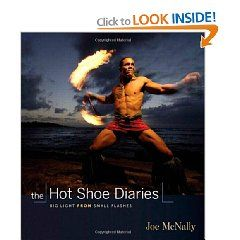 Fun, easy reading accounts of many of Joe McNally's photo shoots with small Nikon flashes.
