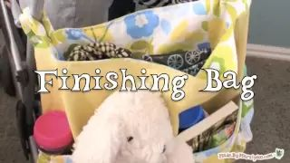 sewing a diaper bag lots of pockets - YouTube
