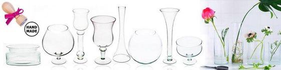 Wazony szklane eko szklo