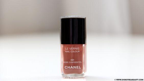 Chanel Le Vernis Nail Rose Confidentiel