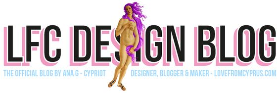 Yep....we've had a makeover, but your trusty design blog is still offering the same great posts.  Design is a lifestyle. Everyday we aim to share the best in all design fields. Subscribe to our newsletter for blog updates, special offers on our e-shop and stay in the loop.  http://anastasiagerali.blogspot.com/