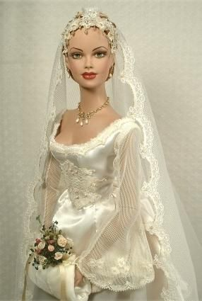 Beautiful grace o 39 malley and marriage on pinterest for How to make a barbie wedding dress