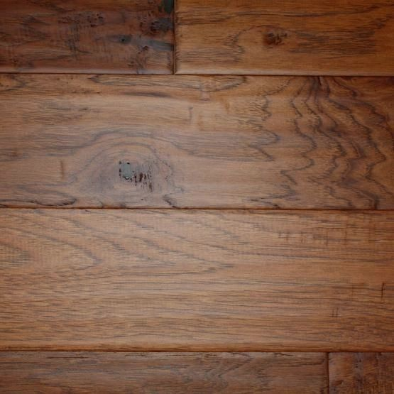 Our Hickory Gunstock Is Hand Scraped One Board At A Time Which Can Make For A With Images Hardwood Floor Colors Hickory Flooring