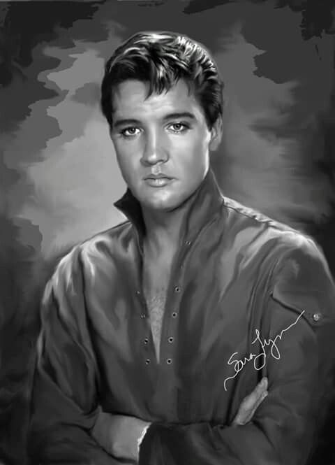 {*Elvis art by Sara Lynn Sanders. Elvis Aaron Presley - January 8, 1935 Tupelo, Mississippi, U.S. Died August 16, 1977 (aged 42) Memphis, Tennessee, U.S. Resting place Graceland, Memphis, Tennessee, U.S. Education . L.C. Humes High School Occupation Singer, actor Home town Memphis,Tennessee, U.S. Spouse(s) Priscilla Beaulieu (m. 1967; div. 1973) Children Lisa Marie Presley*}
