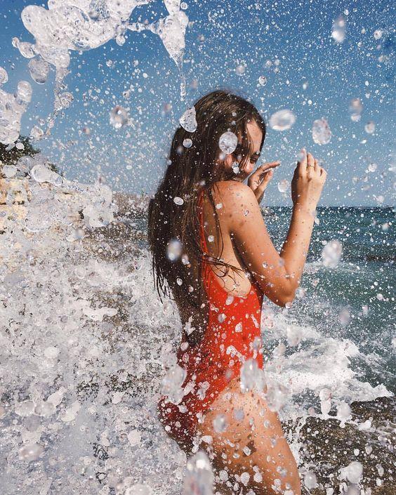 @XllXllXll Fotografía mujer  Playa  Agua