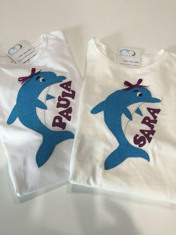 Camisetas personalizadas #delfin #camiseta #personalizada #facebookcottonlima #cottonlima