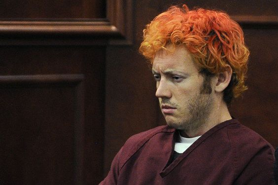 Holmes Hair SHOULD BE SHAVED in court, July 23, 2012. (AP/Pool)