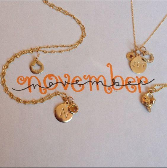 November Birthdays! Happy Birthday!