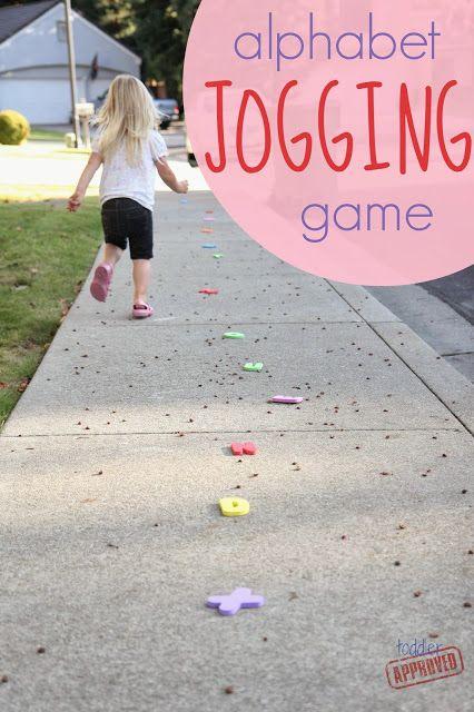 Toddler Approved!: Alphabet Jogging Game for Kids
