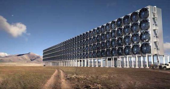 Carbon Enginnering capture le CO2... puis le recycle !