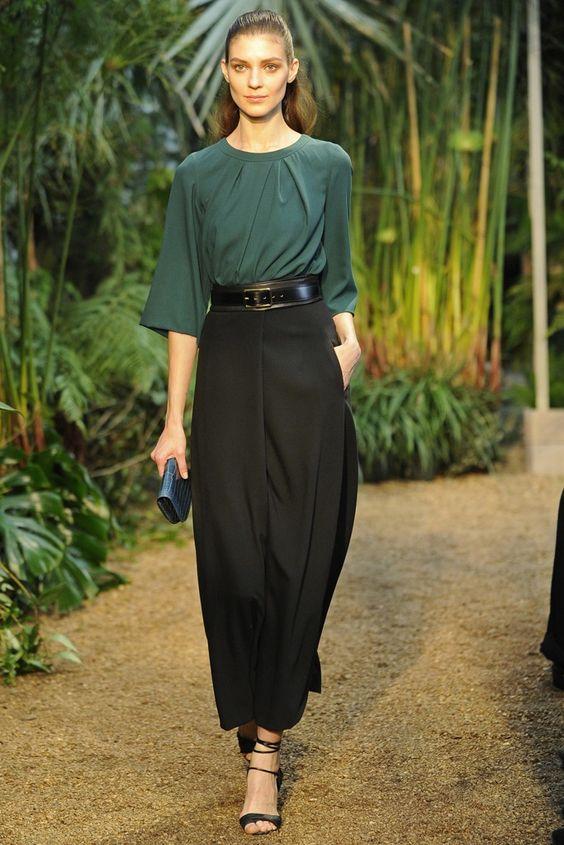 Hermès RTW Spring 2014 - Slideshow - Runway, Fashion Week, Reviews and Slideshows - WWD.com PARIS Christophe Lemaire