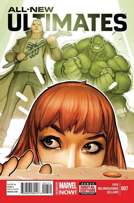 All-New Ultimates N°7 - Cover by David Nakayama