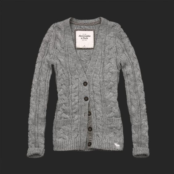 Abercrombie and Fitch Womens Sweaters Gray