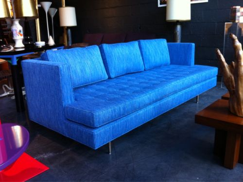 Wonderful 1949 Dunbar Chamberlain Sofa. For Some Werid Reason I Really Enjoy The  Colour Of This
