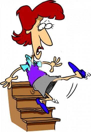 falling down stairs joke | 15 Minutes Ago…! | Humorous Dispassionate