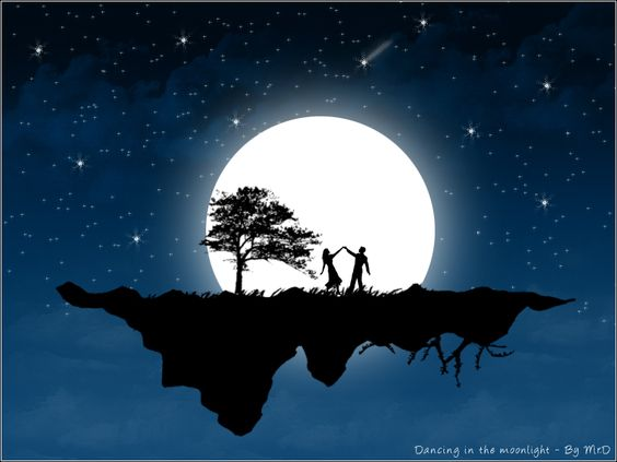 It's a marvelous night for a moon dance