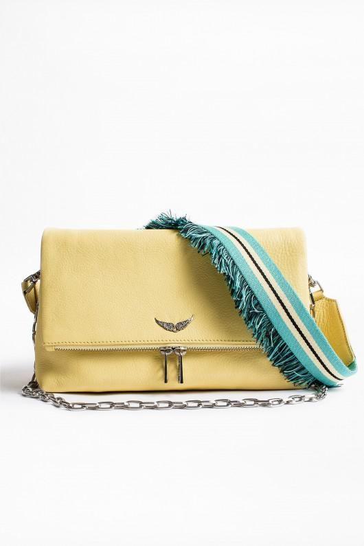 Zadig Voltaire Multicolor Rocky Bahia Bag Bolsos De Cuero Hombre Carteras Bolso