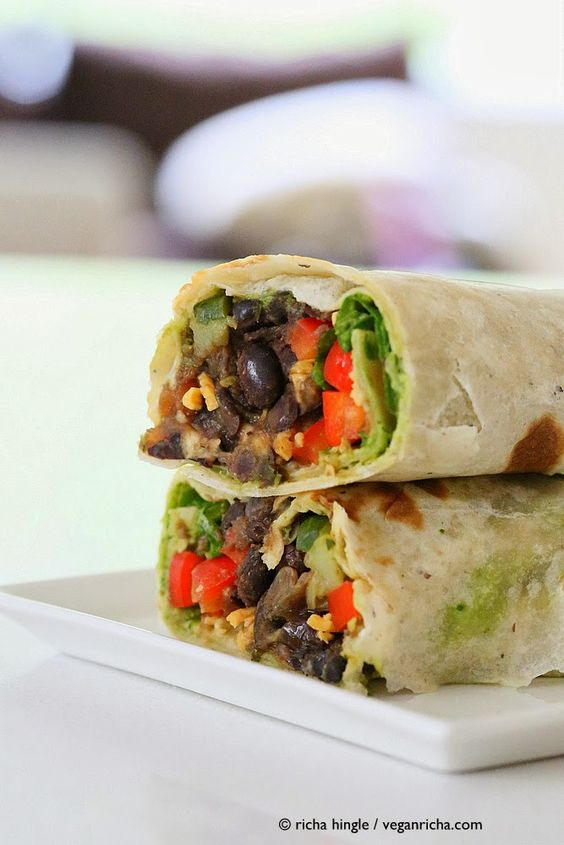 ... wrap black beans spinach beans wraps vegans vegan recipes black recipe