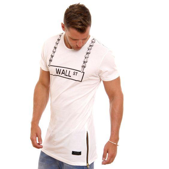 Religion Wall St T-Shirt - White - B224WLF37 - Religion T-shirts at Reem Clothing UK