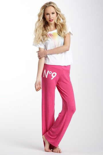 Wildfox Couture No. 9 Fitted Sweatpant