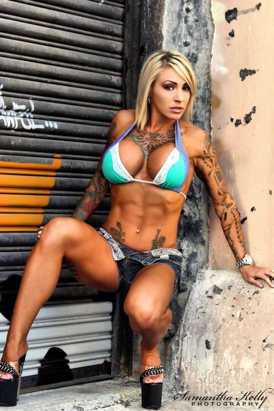 tattoo fitness babe porn