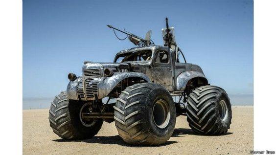 As incríveis máquinas mutantes de 'Mad Max' - BBC Brasil