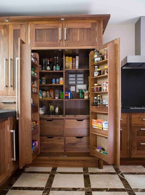 The best kitchen space creator isn 39 t a walk in pantry it for Walk in pantry cabinets