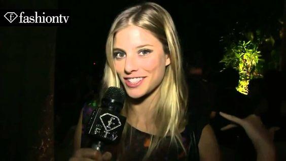 Josefina Cisternas para Fashion TV