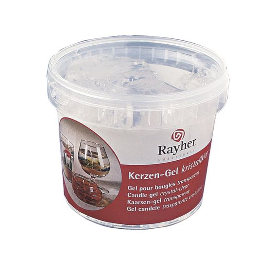 Kerzen-Gel, Becher á 750 g  ca. 850 ml von eckstein-kreativ via dawanda.com
