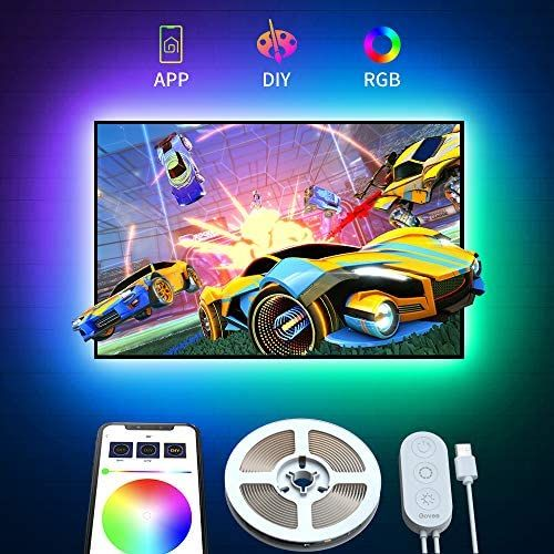 Tv Led Backlight With App Control Govee 2m Led Strip Lights For Tv 40 55in Rgb 5050 Tv Ligh Rgb Led Lights Led Strip Lighting Strip Lighting