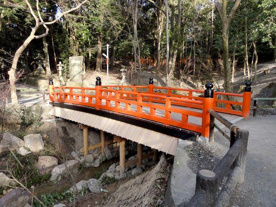 Brücke am Fushimi Inari-Taisha Shrine, Kyōto