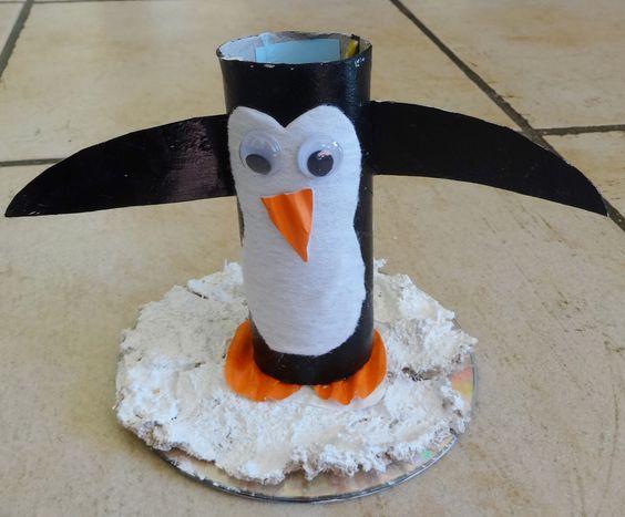 Petit pingouin sur la banquise