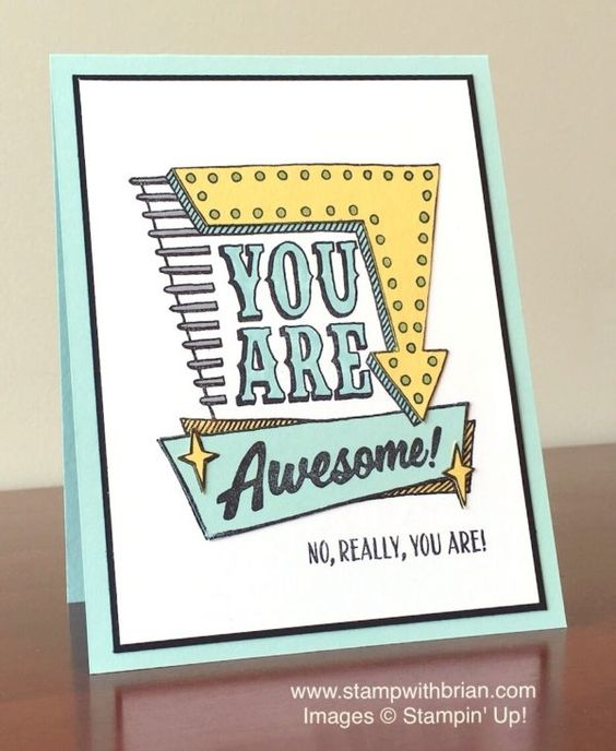 Marquee Messages, Stampin' Up!, Brian King, Sneak Peek: