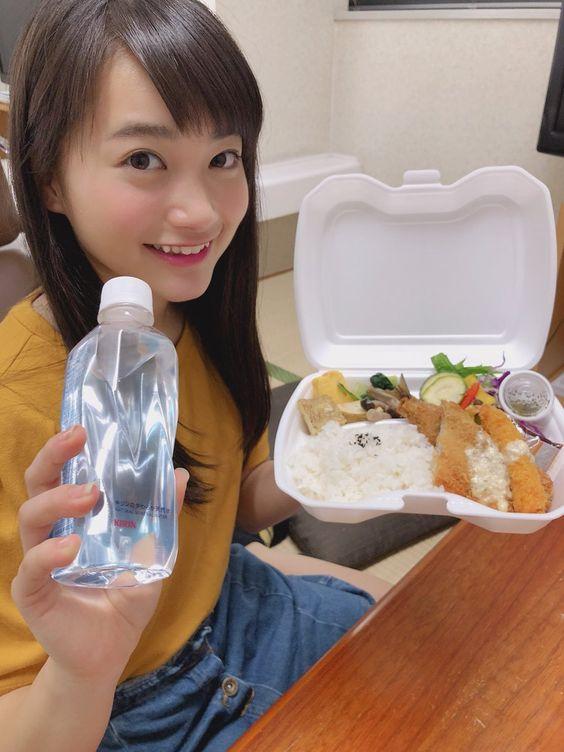 お弁当と福田愛依